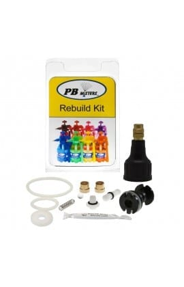 Rebuild Kit for Pressure Relief Misters- Black