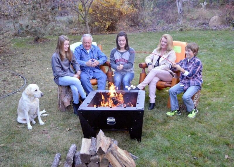 family campfire fun with Firebuggz