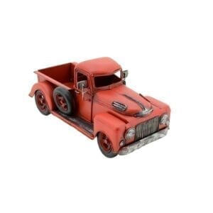 metal truck- red