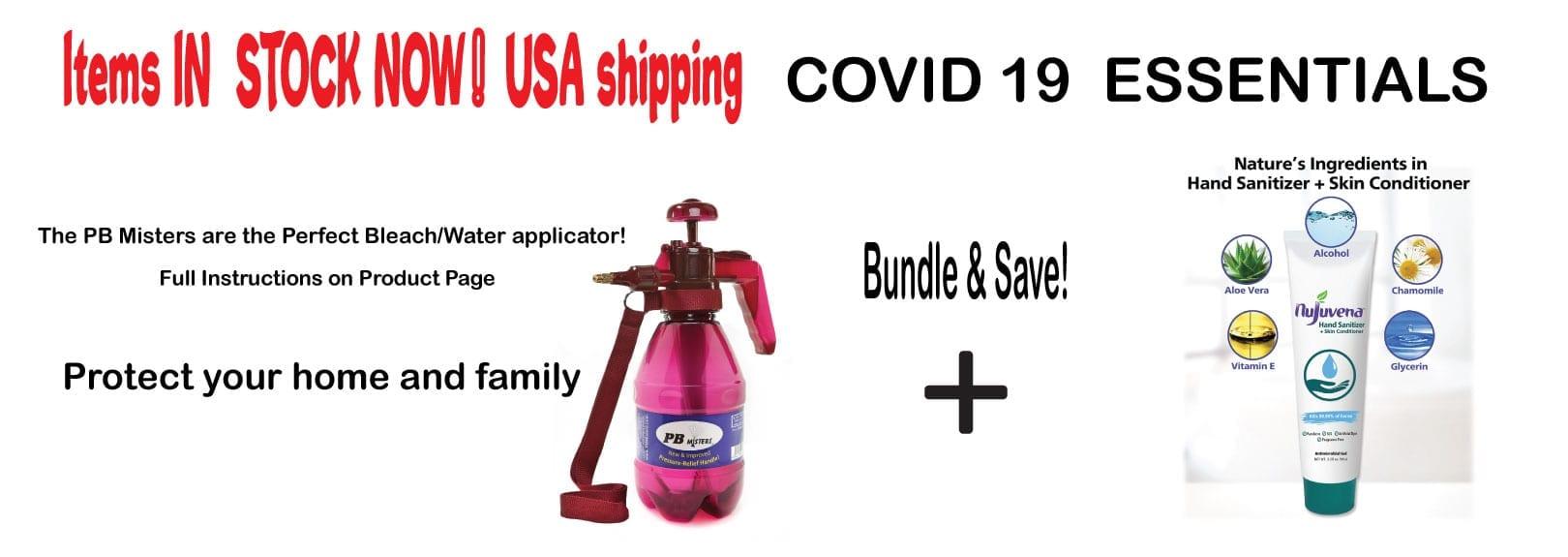 Covid-19 Essentials Bundle Offer