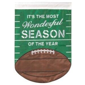 Football Season Garden Flag
